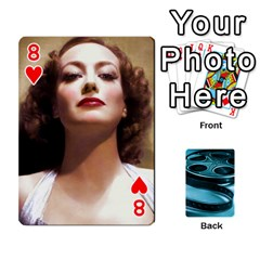 Freds Cards 1 By Frederico   Playing Cards 54 Designs   Nj614bsg90ll   Www Artscow Com Front - Heart8