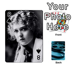 Freds Cards 1 By Frederico   Playing Cards 54 Designs   Nj614bsg90ll   Www Artscow Com Front - Spade8