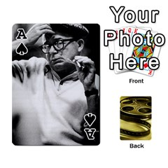 Ace Freds Cards 2 By Frederico   Playing Cards 54 Designs   E0tr4t0nbtsn   Www Artscow Com Front - SpadeA