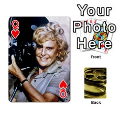 Queen Freds Cards 2 By Frederico   Playing Cards 54 Designs   E0tr4t0nbtsn   Www Artscow Com Front - HeartQ
