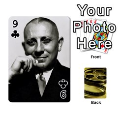 Freds Cards 2 By Frederico   Playing Cards 54 Designs   E0tr4t0nbtsn   Www Artscow Com Front - Club9