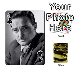 Jack Freds Cards 2 By Frederico   Playing Cards 54 Designs   E0tr4t0nbtsn   Www Artscow Com Front - ClubJ