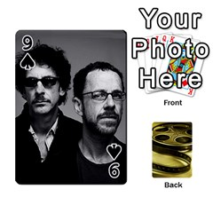 Freds Cards 2 By Frederico   Playing Cards 54 Designs   E0tr4t0nbtsn   Www Artscow Com Front - Spade9