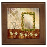 Latice garden framed tile
