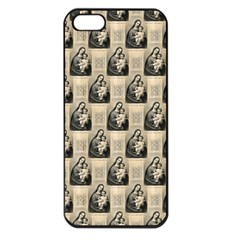 Mother Mary Apple iPhone 5 Seamless Case (Black)