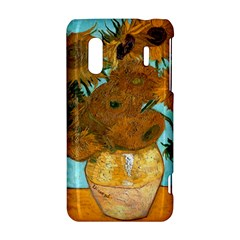 Vase With Twelve Sunflowers By Vincent Van Gogh 1889  HTC Evo Design 4G/ Hero S Hardshell Case