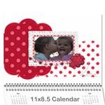 2014 cal - Wall Calendar 11  x 8.5  (12-Months)