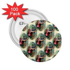 Alice In Wonderland 2.25  Button (100 pack)