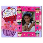 cupcake puzzle - Jigsaw Puzzle (Rectangular)