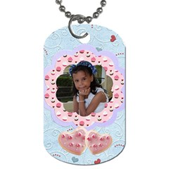 2sided Dog Tag By Ivelyn   Dog Tag (two Sides)   8xgeti41qx16   Www Artscow Com Front