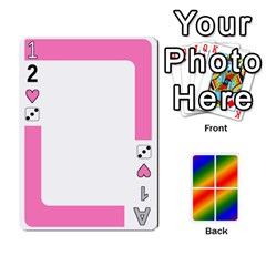 Rainbow Deck V2 1 Deck 1 By Changcai   Playing Cards 54 Designs   M4cjhdnbvy5k   Www Artscow Com Front - Heart3