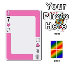 Rainbow Deck V2 1 Deck 1 By Changcai   Playing Cards 54 Designs   M4cjhdnbvy5k   Www Artscow Com Front - Heart8