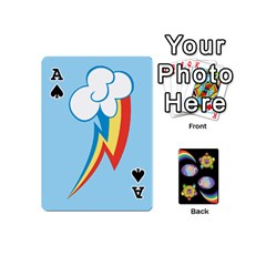 Ace Pony Cards 1 (with Pips) By Aaron   Playing Cards 54 (mini)   2o8z6z0rhuyz   Www Artscow Com Front - SpadeA