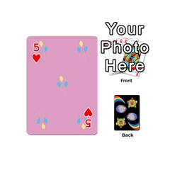 Pony Cards 1 (with Pips) By Aaron   Playing Cards 54 (mini)   2o8z6z0rhuyz   Www Artscow Com Front - Heart5