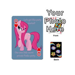Queen Pony Cards 1 (with Pips) By Aaron   Playing Cards 54 (mini)   2o8z6z0rhuyz   Www Artscow Com Front - HeartQ