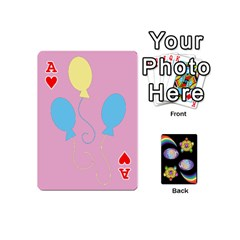 Ace Pony Cards 1 (with Pips) By Aaron   Playing Cards 54 (mini)   2o8z6z0rhuyz   Www Artscow Com Front - HeartA