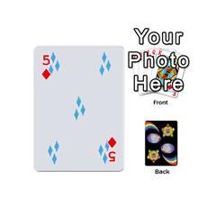 Pony Cards 1 (with Pips) By Aaron   Playing Cards 54 (mini)   2o8z6z0rhuyz   Www Artscow Com Front - Diamond5
