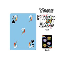 Pony Cards 1 (with Pips) By Aaron   Playing Cards 54 (mini)   2o8z6z0rhuyz   Www Artscow Com Front - Spade5