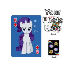 King Pony Cards 1 (with Pips) By Aaron   Playing Cards 54 (mini)   2o8z6z0rhuyz   Www Artscow Com Front - DiamondK