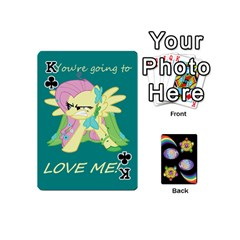 King Pony Cards 1 (with Pips) By Aaron   Playing Cards 54 (mini)   2o8z6z0rhuyz   Www Artscow Com Front - ClubK