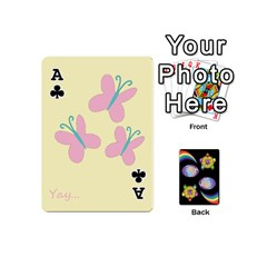 Ace Pony Cards 1 (with Pips) By Aaron   Playing Cards 54 (mini)   2o8z6z0rhuyz   Www Artscow Com Front - ClubA