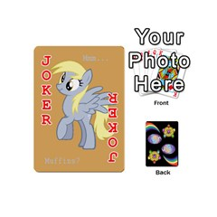 Pony Cards 1 (with Pips) By Aaron   Playing Cards 54 (mini)   2o8z6z0rhuyz   Www Artscow Com Front - Joker2