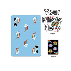 Pony Cards 1 (with Pips) By Aaron   Playing Cards 54 (mini)   2o8z6z0rhuyz   Www Artscow Com Front - Spade8