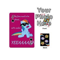 Jack Pony Cards 1 (with Pips) By Aaron   Playing Cards 54 (mini)   2o8z6z0rhuyz   Www Artscow Com Front - SpadeJ