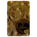 I Heart You Gold Kindle Fire Hard Case - Kindle Fire (1st Gen) Hardshell Case