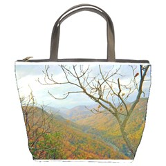 Way Above The Mountains Bucket Bag by Majesticmountain
