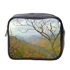 Way Above The Mountains Mini Travel Toiletry Bag (two Sides) by Majesticmountain