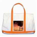 South Carolina Orange two tone tote - Two Tone Tote Bag