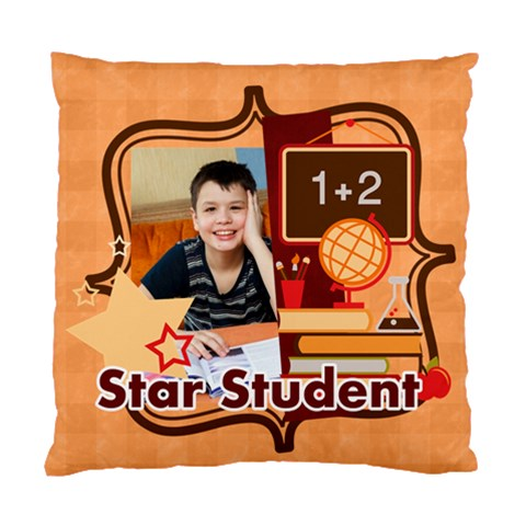 Back To School By School   Standard Cushion Case (one Side)   V7hny2xviyul   Www Artscow Com Front