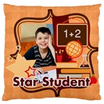 back to school - Large Cushion Case (One Side)