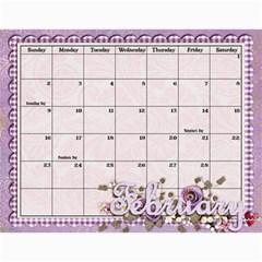 2014 Calendar By Jami Malcolm   Wall Calendar 11  X 8 5  (12 Months)   Qlelrnn1jsvp   Www Artscow Com Feb 2014