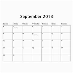 Calander Papi Mami By Giti   Wall Calendar 11  X 8 5  (12 Months)   33uz5vlwmimp   Www Artscow Com Sep 2013