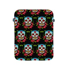 Sugar Skull Apple iPad 2/3/4 Protective Soft Case by EndlessVintage