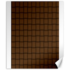 Brown Nose Weave Canvas 20  X 24  (unframed) by BestCustomGiftsForYou