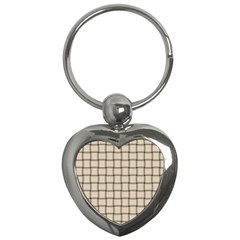 Champagne Weave Key Chain (heart) by BestCustomGiftsForYou