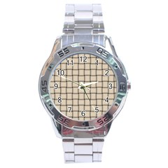 Champagne Weave Stainless Steel Watch (men s) by BestCustomGiftsForYou