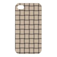 Champagne Weave Apple Iphone 4/4s Premium Hardshell Case by BestCustomGiftsForYou