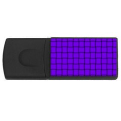 Violet Weave 2GB USB Flash Drive (Rectangle) by BestCustomGiftsForYou