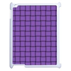 Amethyst Weave Apple iPad 2 Case (White) by BestCustomGiftsForYou