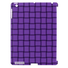 Amethyst Weave Apple Ipad 3/4 Hardshell Case (compatible With Smart Cover) by BestCustomGiftsForYou