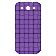 Amethyst Weave Samsung Galaxy S3 S Iii Classic Hardshell Back Case by BestCustomGiftsForYou