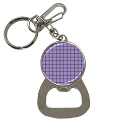 Light Pastel Purple Weave Bottle Opener Key Chain by BestCustomGiftsForYou