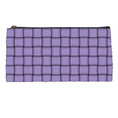 Light Pastel Purple Weave Pencil Case by BestCustomGiftsForYou