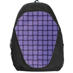Light Pastel Purple Weave Backpack Bag by BestCustomGiftsForYou