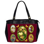 Iris 2 sided office bag - Oversize Office Handbag (2 Sides)