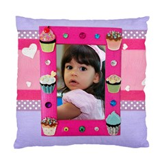Any Time Is Cupcake Time Pillow Case By Ivelyn   Standard Cushion Case (two Sides)   Hdnmatvtndmj   Www Artscow Com Back
